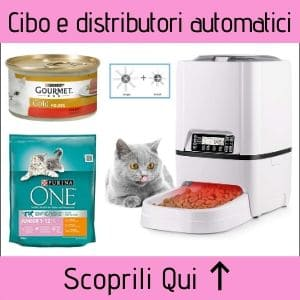 Cibo per gatti e distributori automatici